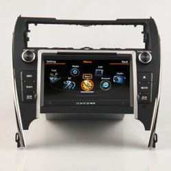 Toyota Camryのための車Audio私達GPSのVersion 2012年、Bluetooth、3G、Touch Screen、WiFi
