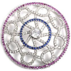 Toebehoren van de Schakelaar van de Juwelen van CZ van de fabriek de In het groot voor de Halsband van de Parel