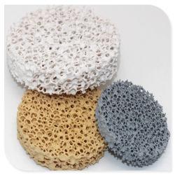 고품질 금속 주물을%s 세라믹 거품 필터 실리콘 탄화물 반토 지르코니아