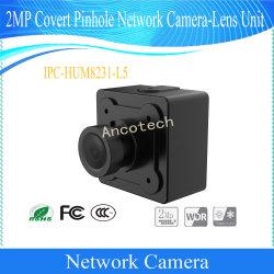 Dahua 2MP Covert Pinhole Camera-Lens vidéo numérique de l'unité de réseau (CIB-HUM8231-L5)