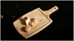Pastel de postre fruta Pan Pizza disco plato de sushi de la placa rectangular Bandeja Pizza de carne