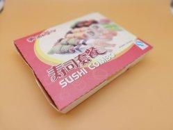 La bagasse de canne à sucre Pâte de papier jetable biodégradable 2 Compartiment Boîte à lunch des aliments
