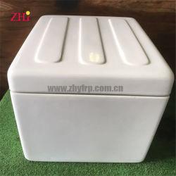 صندوق ثلج معزول مع وسادة مطاطية مقاومة للماء