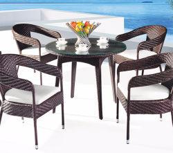 جديد مادة حديثة تصميم يترأّس [رتّن] داخليّة طاولة وكرسي تثبيت
