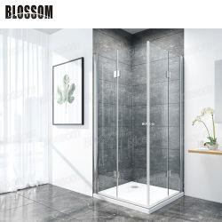 Salle de bains en verre trempé Duschkabine simple chambre d'angle Case cabine de douche