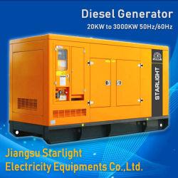 500kw acquietano il potere insonorizzato diesel elettrico del generatore con il motore di Shangchai
