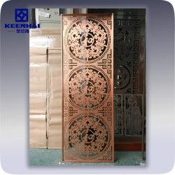 Laiton Antique Hotel fixation décoratifs écran métallique