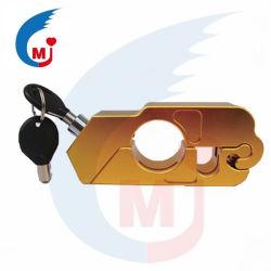 Pega em motocicleta bloquear a alavanca do freio de alumínio CNC Protecção contra roubo Universal Fechaduras