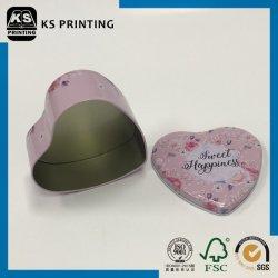 Bunte Zinnblech-Eisen-Geschenk-Süßigkeit schachtelt Fall-Zinn-Behälter mit Kappe
