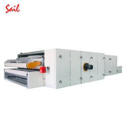 Non-tissés par le biais de four à air chaud pour l'ouate de rembourrage de collage de la production thermique