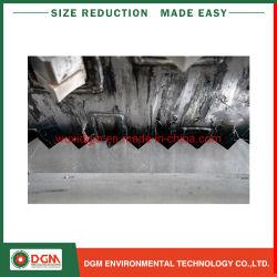 プラスチックリサイクルラインのための粉砕機を寸断する大きいサイズの直径PPのPE PVC管