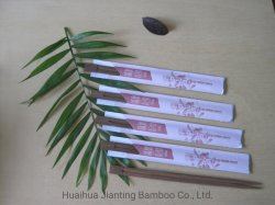 Home Eco-Friendly half Paper Wrapping Chopsticks Disposable Bamboo Products