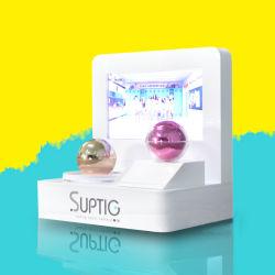 Pantalla LED de 9 pulgadas de pantalla de maquillaje de acrílico