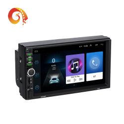 2 lettori DVD universali dell'automobile di collegamento dello specchio dello schermo di tocco di memoria di percorso 16g/32g di GPS del Android 9.0/8.1 tutti compresi della macchina di percorso del riproduttore video dell'automobile DIN7918 HD