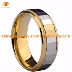 Corpo Shineme jóias de alta qualidade jóias de tungsténio Anel do dedo (TSTG032)