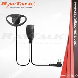 STP8000 STP9000コミュニケーションラジオのためのEarloopのD整形受話口