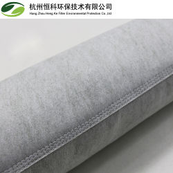 La preuve d'huile anti-statique Tissu en polyester revêtu de PTFE Sac filtre
