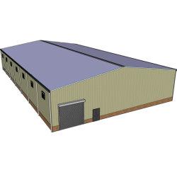 Gelakt of vergalvaniseerd goede prijs Metaal magazijn Staal structureel