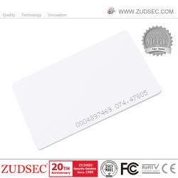 بطاقة تعريف بسمك RFID عالية الجودة تبلغ 125 كيلو هرتز للتحكم في الوصول