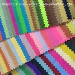 210d Stock colorés pour les sacs en tissu polyester Oxford beaucoup de couleurs de tissu de sac