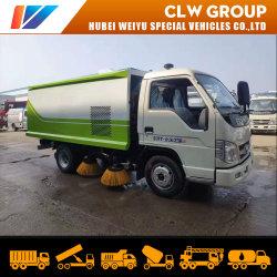 Haute Performance Capacité Mini 2,8m3 Balayeuse fabriqués en Chine Camion de collecte des lames en acier inoxydable