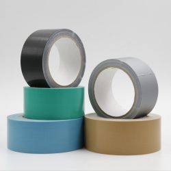 El embalaje BOPP impreso a doble cara cinta adhesiva de tela de poliéster resistente Cinta Gaffer