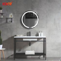 Conjunto de espejo LED Superficie sólida de la vanidad de baño
