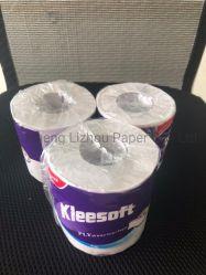 Vierge du papier de toilette/papier hygiénique recyclé/mouchoir en papier recyclé