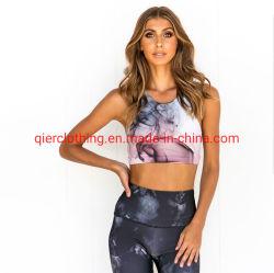 L'impression Jambières de vêtements sport yoga Survêtements femmes Soutien-gorge et le pantalon Vêtements Vêtements de mode de remise en forme Salle de gym de l'usure