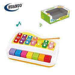 Giocattoli musicali del piccolo bambino promozionale che imparano la tastiera di piano di colpo della mano