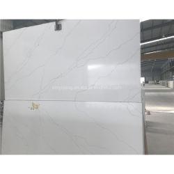 Poli adouci/Jaune/Blanc/gris/beige Onyx/en marbre/mosaïque Qaurtz dalle de pierre/de/de comptoir Vanitytop/Flooring//mosaïque murale
