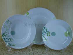 Modern Stijlvol Porselein Goud Gegrimerd Dinnerware Porselein Core Dinnerware