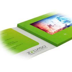 주문을 받아서 만들어진 7 인치 영상 책 디지털 LCD TFT 스크린 인사 비디오 카드