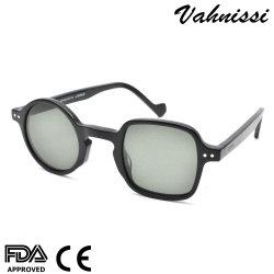 Soem-Entwurfs-Weinlese-Form-Azetat-Sonnenbrillen für Frauen-Männer