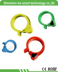 Pp Materiële Passieve Tk4100 RFID Footstags/de Markeringen van de Voet RFID van de Kip, de Kip/de Eend van de Band van de Ringen van het Gevogelte van de Identificatie RFID/de Markering van de Ring van Gooses RFID