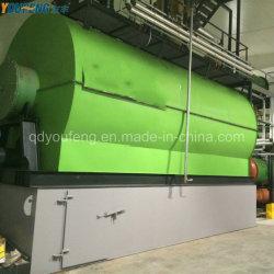 Extrait de la machine de pyrolyse de nouvelle conception de l'huile de carburant à partir de déchets de plastique