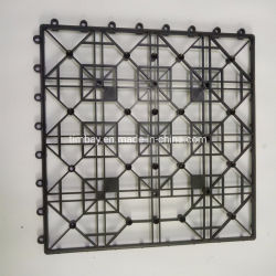 Переплетение пластика базы для палубе и патио плитки
