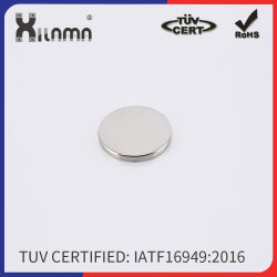 Kleber der Platte NdFeB Magnet-runder Neodym-Magnet-3m
