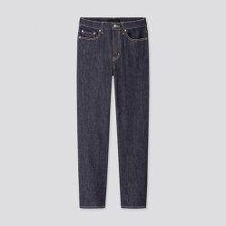 Eenvoudige Mode Comfortabele High Waist Dubbele Zakken Slim Jeans