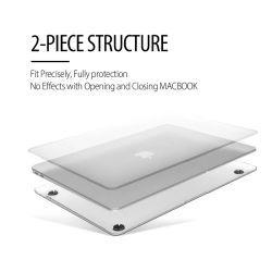 """Caso di MacBook per trasparente di superficie glassato di MacBook 12 """""""