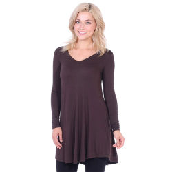 Женщин моды Corset сплошным цветом длинной втулки V-образный вырез горловины блуза