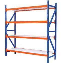 5つの層の調節可能な金属の棚のBoltlessの鋼鉄棚付け