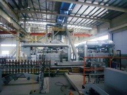 aluminio colado de aleación y de la línea de tren de laminación