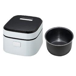 세륨 부엌 장비를 가진 소형 전기 밥 요리 기구를 가열하는 2.5L 붙지 않는 안 남비 백색 3D