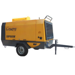 Compressore D'Aria Portatile Diesel A Vite Compressore D'Aria Portatile Diesel A Motore