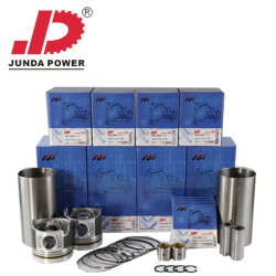 Máquinas para construção da escavadeira Mini Escavadeira de rodas Kit de Revestimento de partes separadas do Motor Diesel