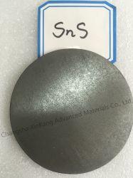 Pulvérisation de sulfure de zinc cible avec la plaque de cuivre collé