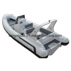 Liya 7.5m Роскошных Яхт под парусом каркасных надувных быстро ребра на лодке