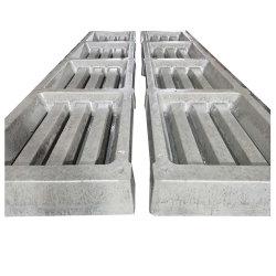 Lajes de betão para garagem andar utilizado as ripas do gado para venda de ardósia concretas tapete textura a máquina