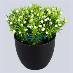 인공 꽃 헤로티스 허브 15인치 미니 보나사이 식물 실내 홈 장식 50128 50131